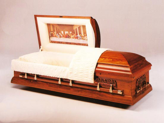 last-supper-casket